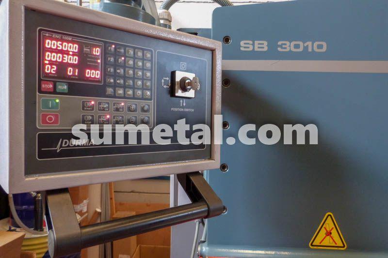 Comprar Cizalla hidraulica Durma de corte pendular mod. SB 3010 Tarragona